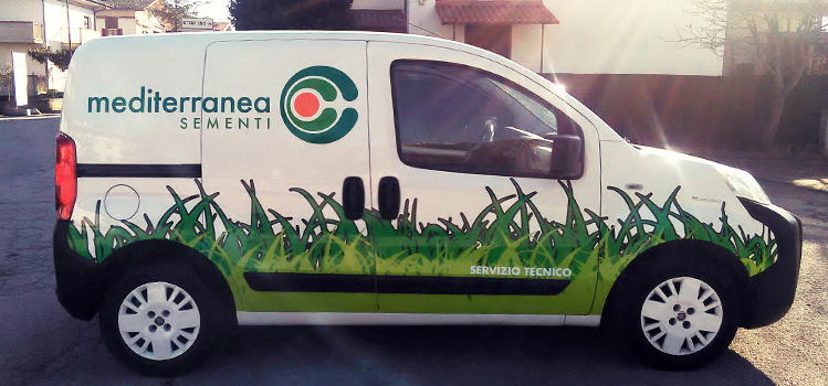 decorazione furgone - car wrapping