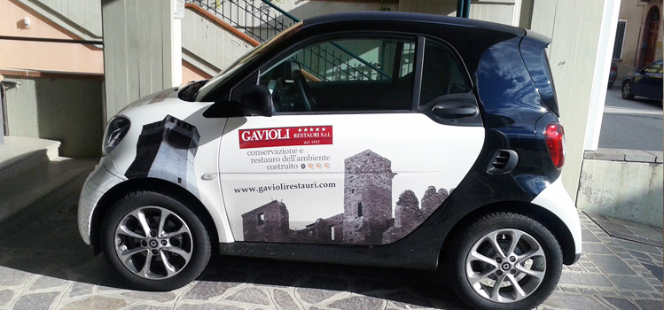 decorazione smart - car wrapping